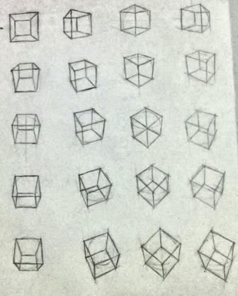 湯浅誠先生の立方体の九九の練習